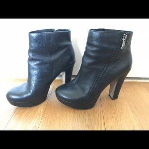 Vince camuto heeled booties sz 7